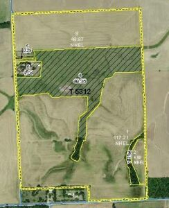 227 +/- Ac Near Conway Springs KS -- Tillable, Pasture & Pond, Home Sites