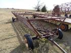 20ft portable hay feeder, GT6t, 4 wheel chassis