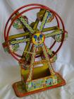 Tin windup Walt Disney Productions Ferris Wheel, works