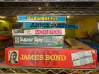 Games: Annie Oakley, Monopoly, Super Spy, James Bond 007, Harmoni Pet, Once Around Jr