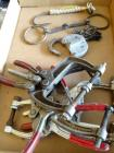 clamps, Adlake RCRR Lock- no key, fish hook, horse bit