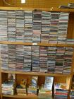 Various CD's- approx 800 and assort books <br />