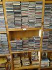 Various CD's- approx 350 cd's and assort books and carry cases <br />