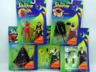 The Shadow movie figurines (5), all NIB:Transforming Lamont Cranston, Battle Shiwan Khan, Dr. Mocquino, Ninja Shadow, Lightning Draw Shadow