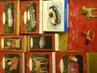8 - Hallmark Keepsake Collectible ornaments in orig boxes; Hallmark Keepsake lapel pin & magnet