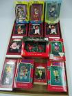 Enesco & Hallmark Keepsake ornaments: Cartoon Network, Yogi Bear, Foghorn & Leghorn, Maxine, Cracker Jack, Planters, Ziggy, Looney Tunes, On the Wings of Christmas - all in original boxes
