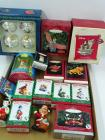 Disney Christmas ornaments, 14 in original boxes, 2 not in box