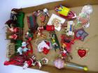 Assorted Children's wooden & metal ornaments