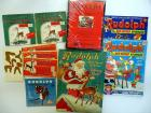 Rudolph books, activity books, records