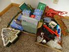2 Boxes of Christmas Lights & Decorations