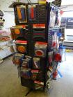 Rotary Display Rack With Assorted Lights, Reflectors, Light Covers