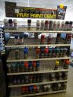 4' Spray Paint Rack With 60 Cans Of Spray Paint