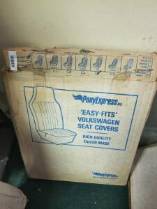 VW Seat Covers- Full Set - 1973 Saddle