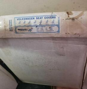 VW Seat Cover- Full Set, 1973, Saddle