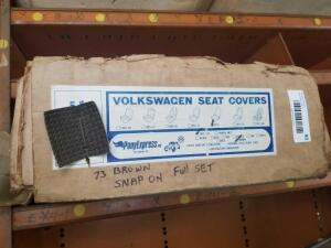 VW Seat Covers- 1973 Full Set, Brown