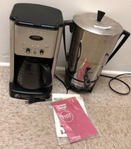 Cuisinart & Party Percolator Coffee Makers