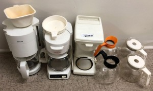 Coffee Makers, Additional Pots, & Parts