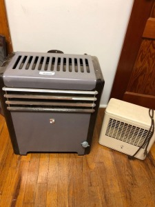 Gas & Electric Heaters, condition unknown