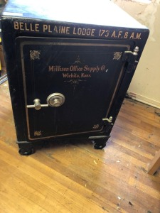 Steel Safe, 2' x 3' x 2', very heavy
