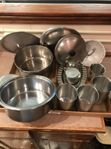 Stainless Steel Stockpots, Lids, Pitchers