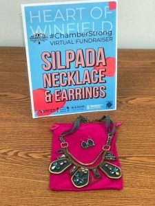 Silpada Necklace and Earrings