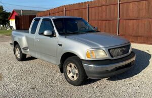 2001 Ford F-150 XL Flareside, 2WD Super Cab, 4.2-L V-6 engine, 150-160000+/- Miles (Odometer not readable), VIN #1FTZX07251KA28120