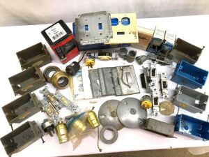 Electrical Items incl Switches, Light Switch Plates, Electrical boxes, Pull Chain Lights, and More