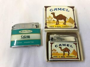 Camel Lighter (new) and Salem Lighter
