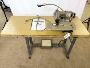 Chandler Mark 60 Blindstitch Machine With a single phase condenser motor- model # 31006