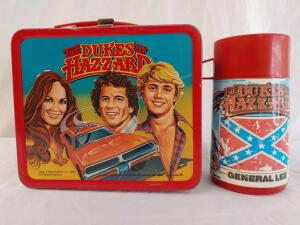 1980 Metal Dukes of Hazzard Lunch Box With Thermos