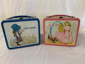 Metal Lunchbox- Holly Hobbie and Junior Miss