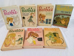 1962, 1963, and 1964 Barbie's Books