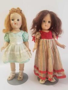 2 Toni Ideal dolls- both 14in