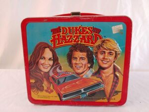 1980 Metal Dukes of Hazard Lunchbox Without Thermos