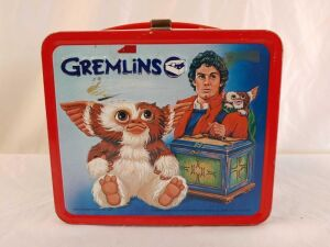 1984 Metal Gremlins Lunchbox, no Thermos