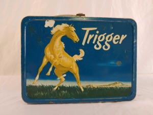 Trigger Metal Lunchbox, No Thermos