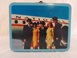 Airline Metal Lunchbox, No Thermos