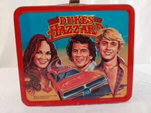 1980 Metal Dukes of Hazzard Lunchbox Without Thermos