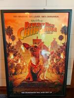"Original Framed ""Beverly Hill's Chihuahua"" movie Poster - 2"