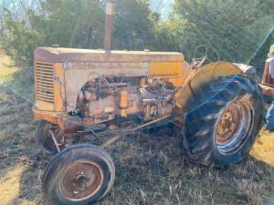 "1948 MM ""UTS"" tractor, wide front, Ser# 0124901246, does not run"