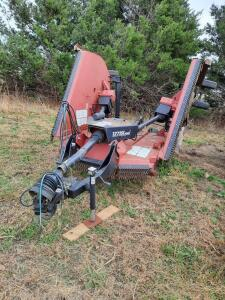 Bush Hog 15', 3 section folding pull type rotary mower, Model #12715 Legend, includes all cylinders