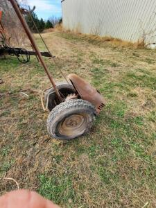 David Bradley garden tiller w/attachments, does not run