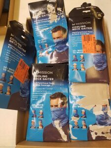 5 Mission Cooling Neck Gaiter- Multifunctional Face and Neck Coverage