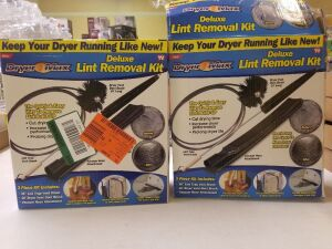 2 Deluxe Lint Removal Kits