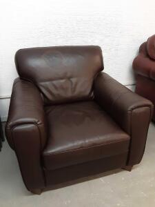 Leather Chair 40in x 34in