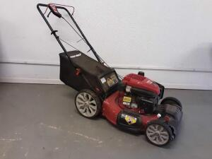 Troy-Bilt 21in Self Propelled Mower- Mulch, Side Discharge and Rear Bag