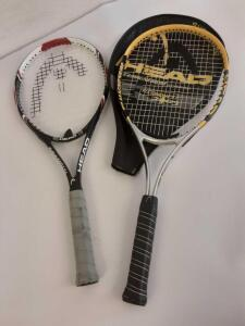 2 Head Tennis Rackets