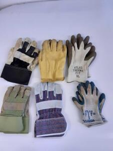 6 Pairs of Gloves