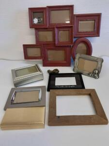 Picture Frames, Jewelry box, Trinket box