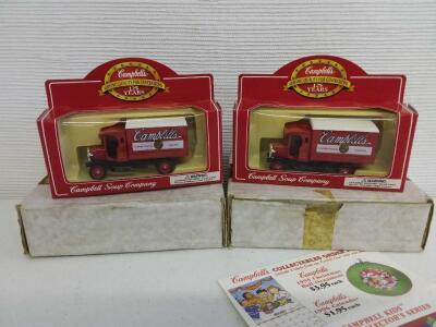 (2) Campbell's 125 Years | NIB-Shipping Boxes Included